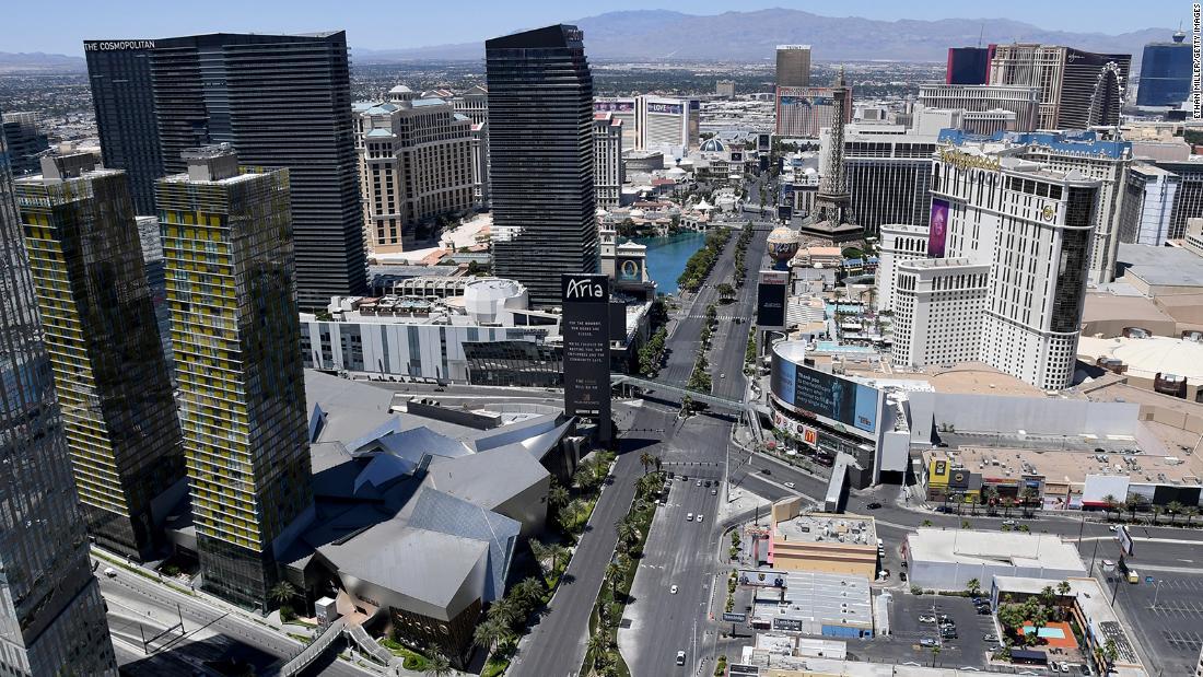 Las Vegas is reopening June 4