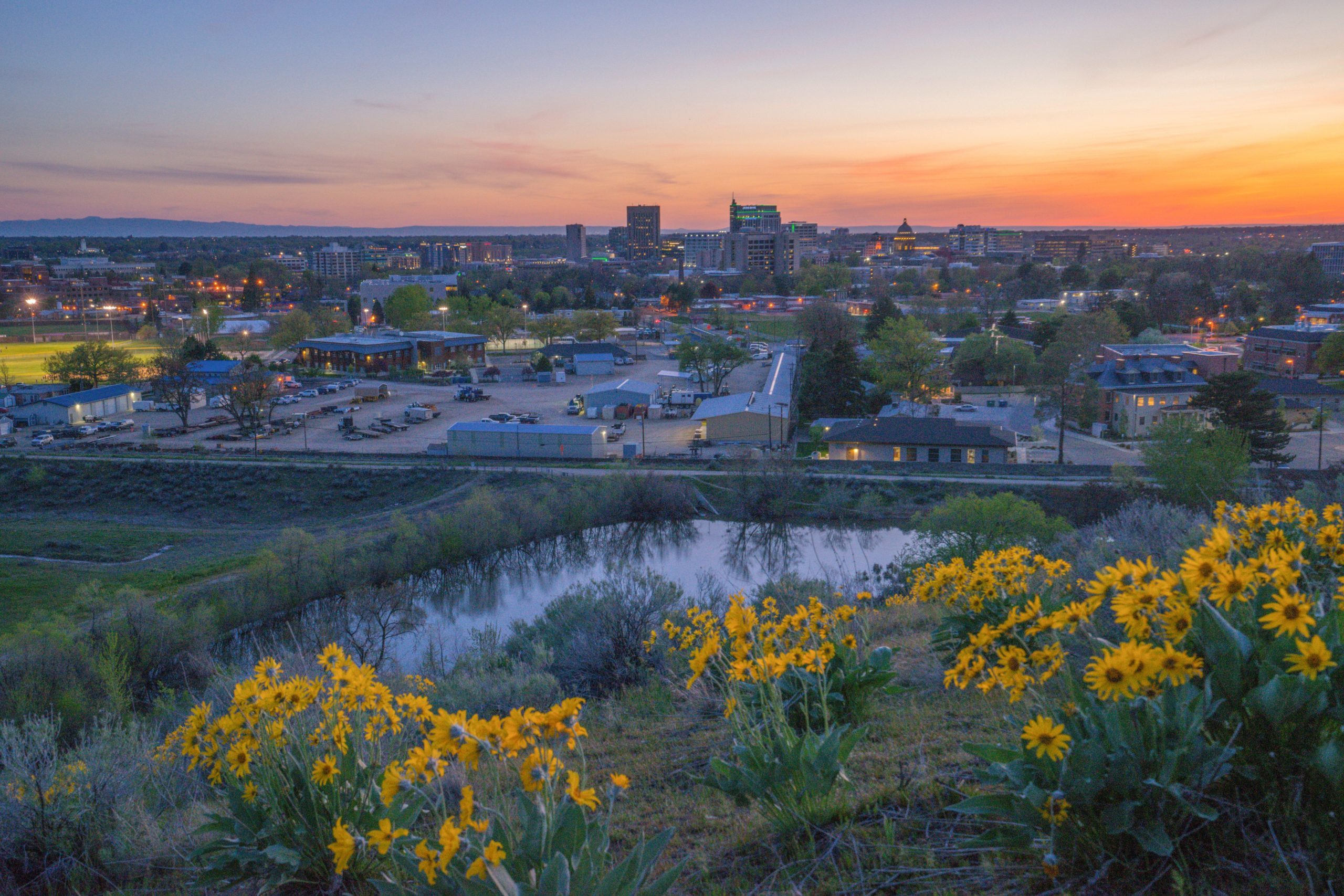 Boise, Idaho, is the second-best city for a staycation, WalletHub's report found.