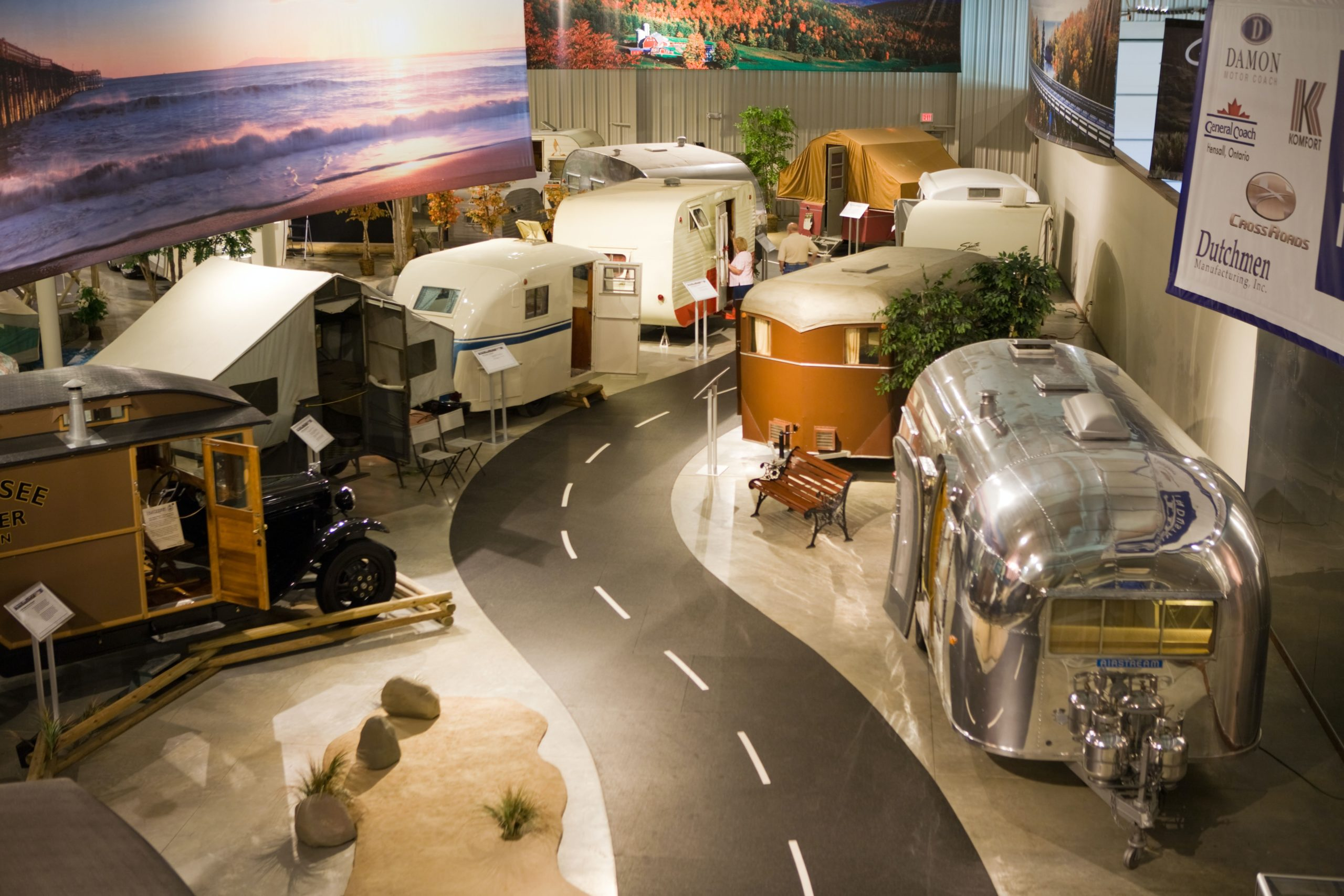 RV/MH Hall of Fame in Elkhart Indiana