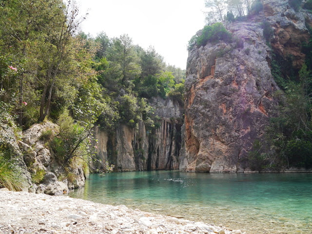 Fancy Swimming in Turquoise Water in the Mountains?