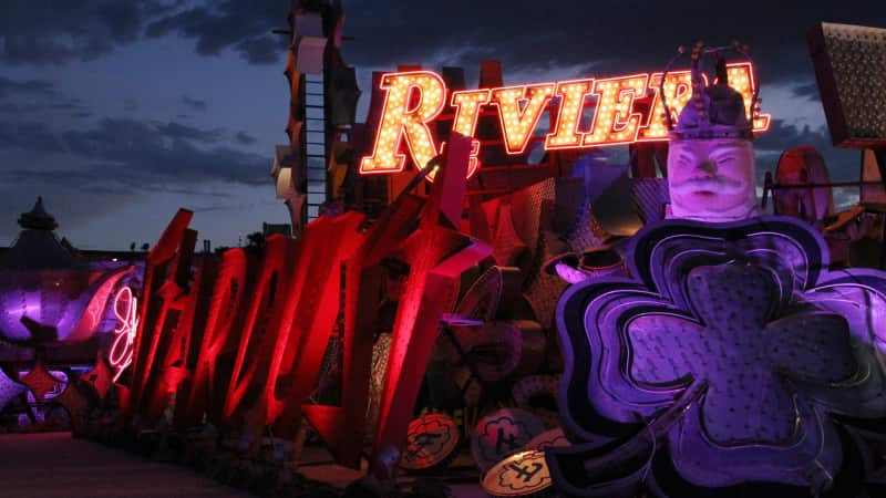 Bright lights: The Las Vegas Neon Museum is committed to business as usual.