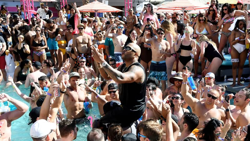 The pool party's over; events like Flo Rida's performance at Flamingo Las Vegas' GO Pool Dayclub in May 2019 will not be returning anytime soon.