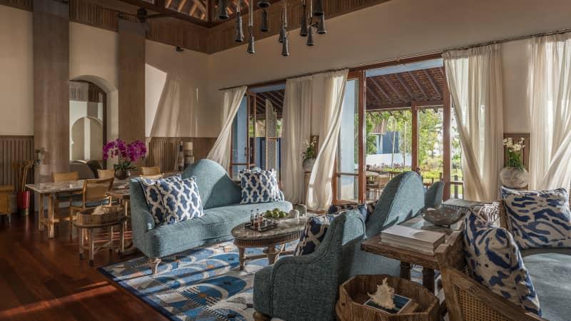 Fours Seasons Resort Langkawi's three-bedroom villa.
