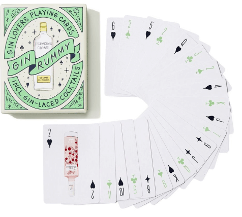 Chronicle Books Gin Lovers Playing Cards