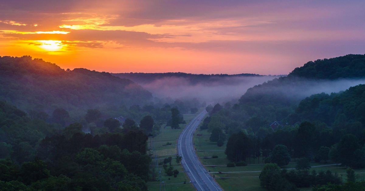 Explore the Natchez Trace from Tennessee to Mississippi