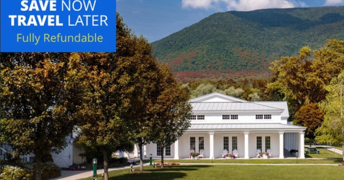 Deal alert: 4-star Vermont resort for $139/night