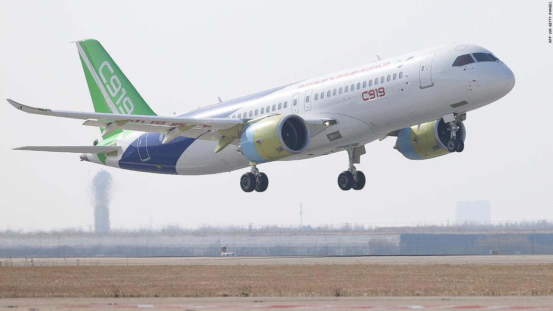 China takes on Airbus and Boeing