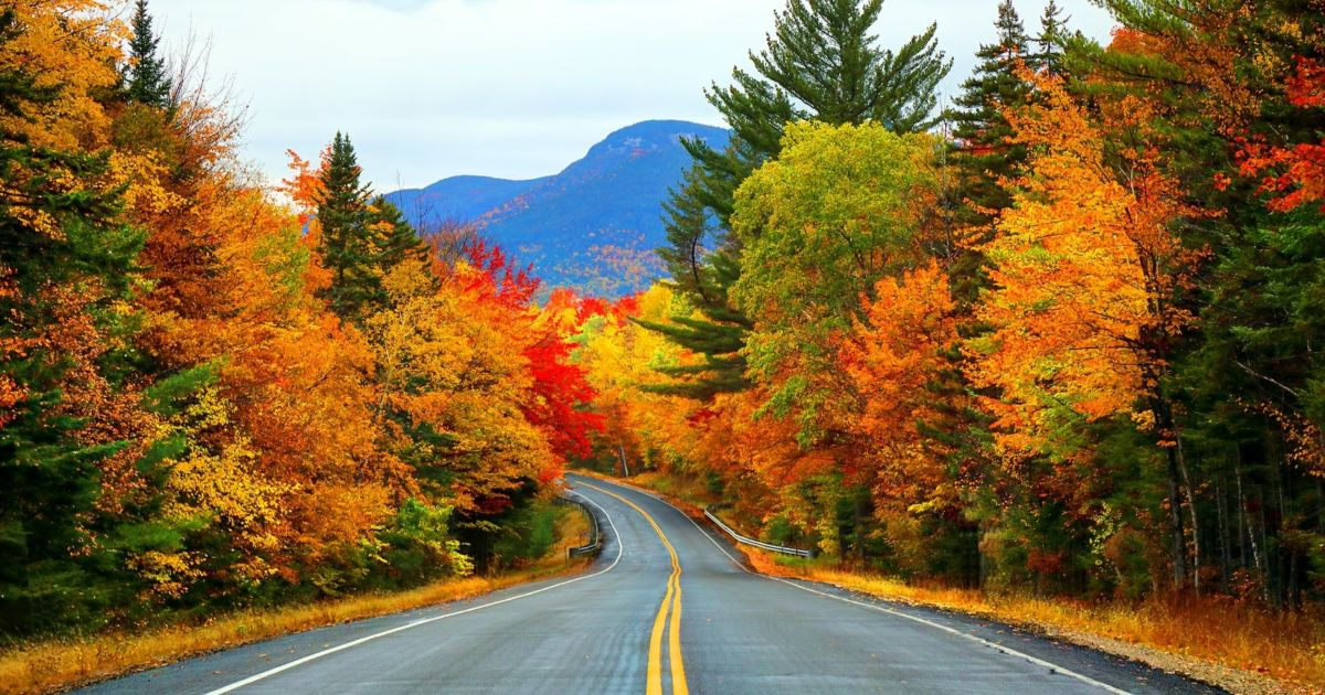 The fall foliage in New England is set to be remarkable – and early